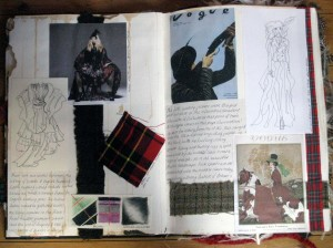 Heritage Sketchbook historical research